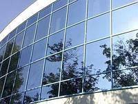 Дзеркальна плівка на вікна PRO R 35 Silver (срібло) ширина 1,5 м.