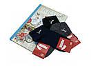 Набір шкарпеток з білим логотипом (3 пари: сірі, темно-сині, чорні), фото 6