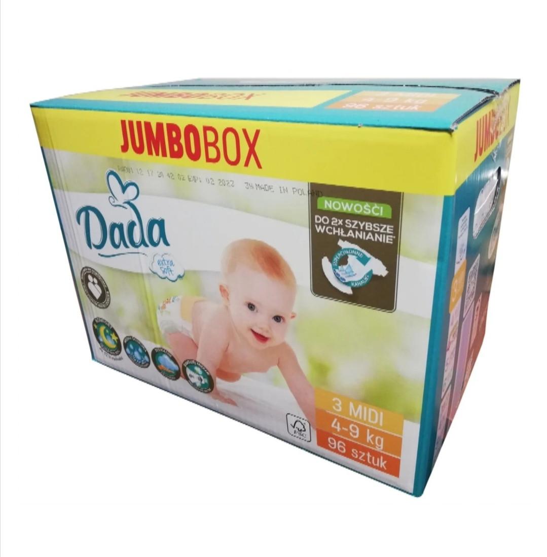 Подгузники Dada Extra Soft 3 (96 шт) от 4 до 9 кг