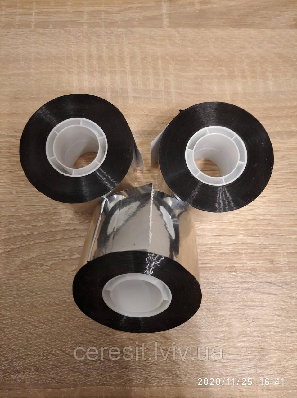 Алюмінієвий скотч для проклейки паро та гідро барьєру  50мм (50 м пог) Польща