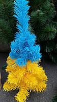 Елочка — есь настольная искусственная (Украина ) желто-голубая.55см, опт, мелкий опт. +380500515574