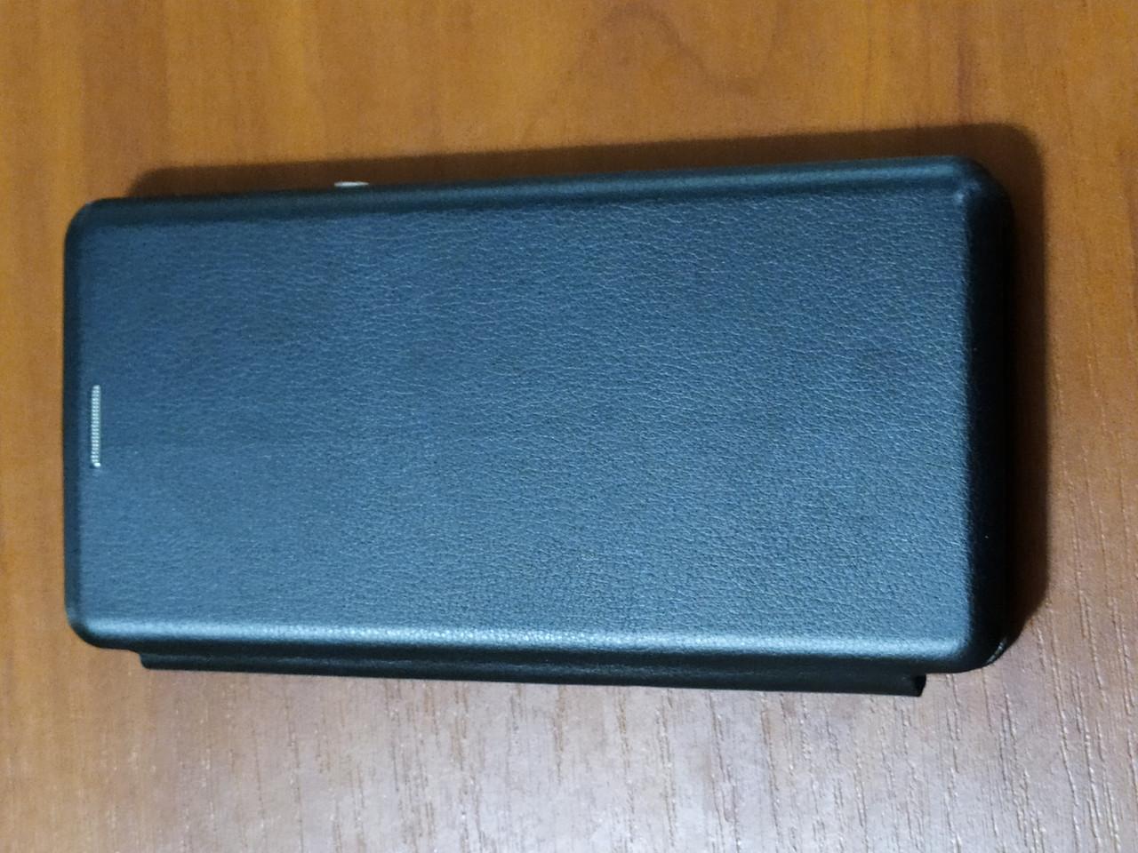 Чехол- книга Premium для Xiaomi Mi Note 10    (черный)