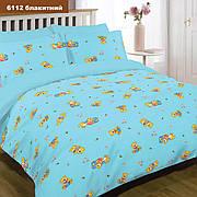 Комплект постельного белья детский ранфорс 6112 голубой ТМ Вилюта