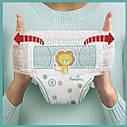 Дитячi одноразові підгузники-трусики PAMPERS Pants Junior (12-17 кг) Середня 22, фото 8