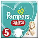 Дитячi одноразові підгузники-трусики PAMPERS Pants Junior (12-17 кг) Середня 22, фото 2