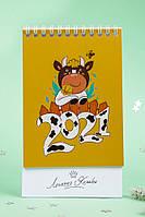 Настольный перекидной календарь Символ года 2021