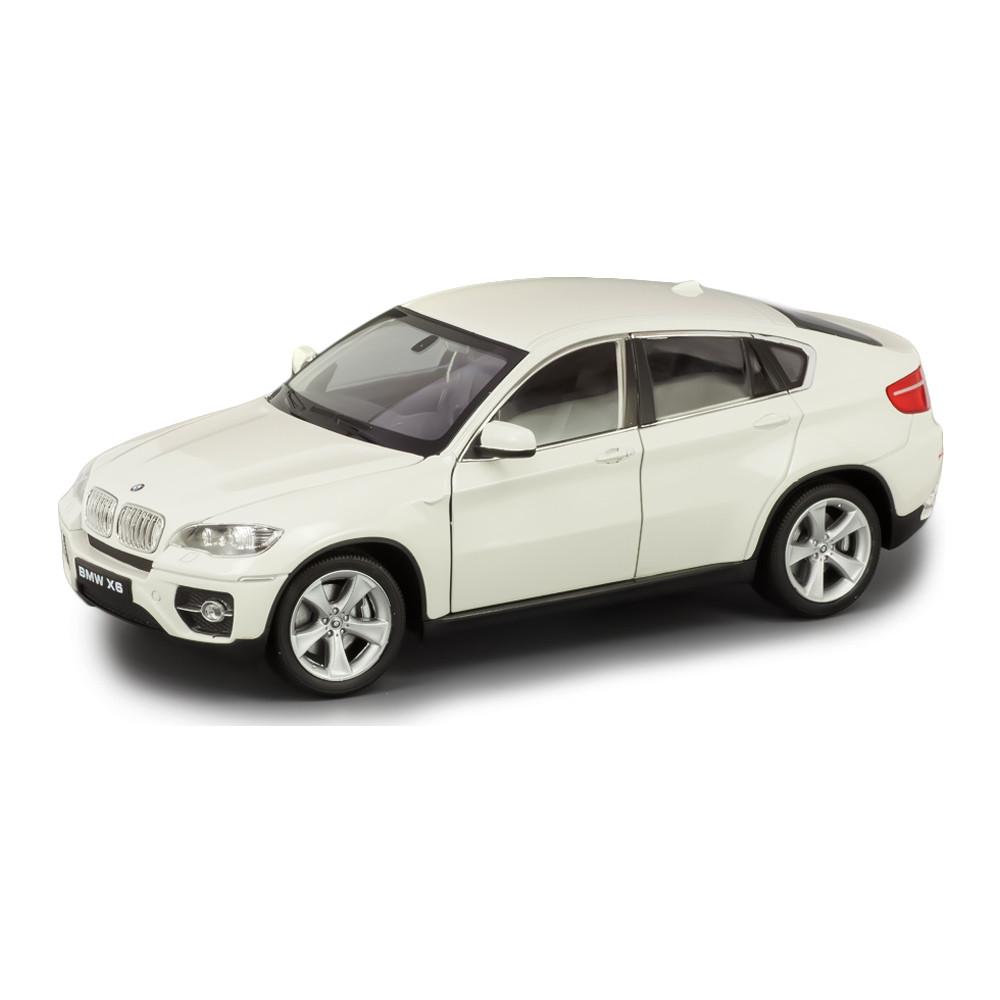 Машина BMW X6 1:24 WELLY, белый