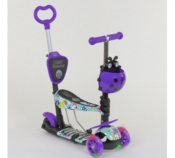 Детский самокат 5 в 1 Best Scooter 68995