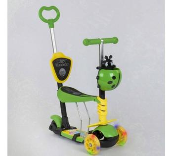 Детский трёхколёсный самокат 5 в 1 Best Scooter 28465