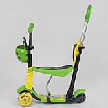 Детский трёхколёсный самокат 5 в 1 Best Scooter 28465, фото 3