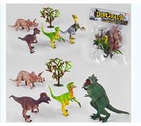 Набор динозавров RN 532-4 2 вида, в кульке