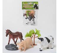 """Набор домашних животных """"Farm Animals"""" в кульке 3 шт NC 2-012 АВ"""