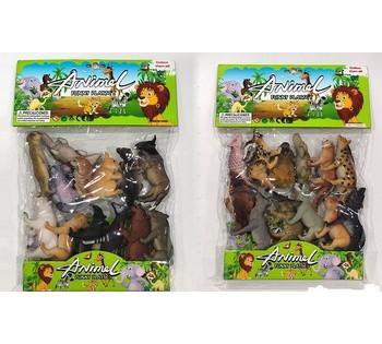 Набор диких животных 370205 (60) 2 вида, в кульке