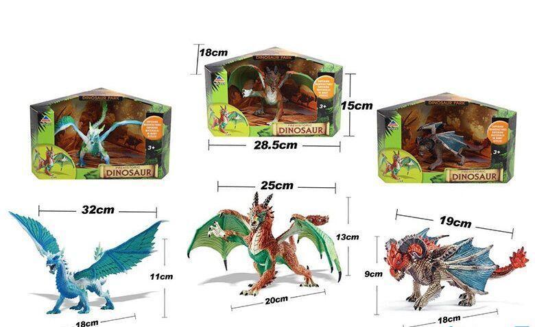 Динозавр DINOSAUR 3 вида, в коробке 493