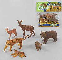 """Набор диких животных UCOK """"Animal World"""" в кульке 3Y 506001 A"""