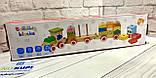 Деревянный Поезд  в коробке, фото 2