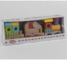 Дерев'яний Поїзд в коробці C