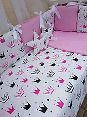 Комплект в детскую кроватку Элит, фото 3