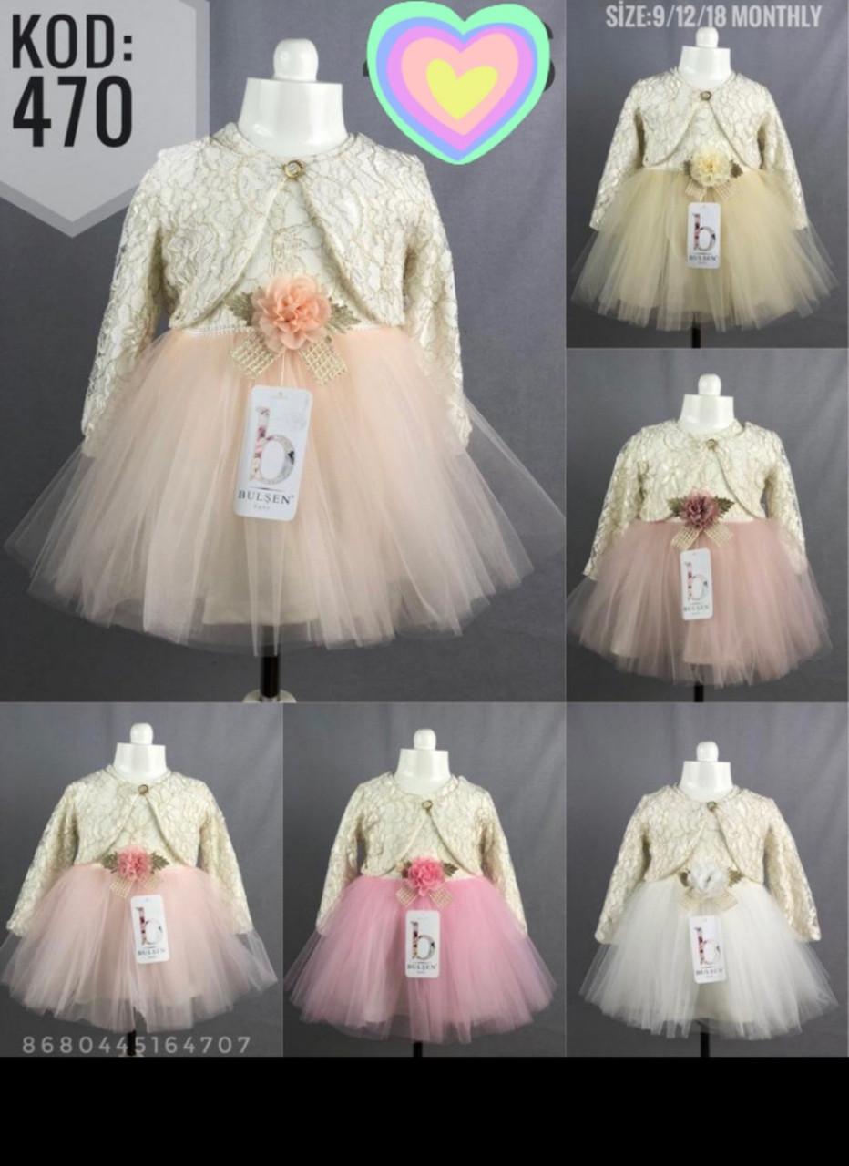 Платья для девочек 74-80-86 рост