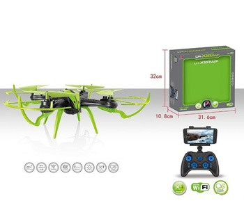 Квадрокоптер на радіокеруванні LH-X 20 WF (12) гіроскоп, КАМЕРА 2МП, підсвічування, батарея 3.7v, wi-f, 2 кольори,