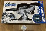 """Робот  Динозавр """"Smart Dinosaur"""" на радиоуправлении аккумулятор. 3.7V, подсветка, ходит, танцует, сенсорная, фото 2"""
