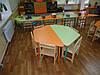 """Столы для детского сада """"Трапеция"""""""