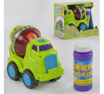 Машинка с мыльными пузырями 75348 (24)  TK Group , на батарейках, в коробке