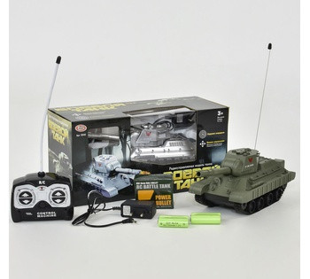 Танк на радиоуправлении 9342 Play Smart  2 цвета, в коробке