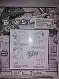 Пистолет с мыльными пузырями  Динозавр, фото 2