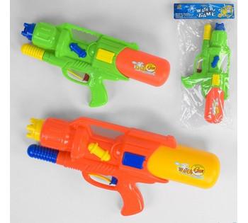 Водный пистолет М 878  2 цвета, в кульке
