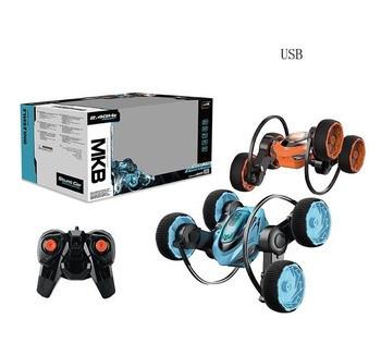 Машина Трюковая Перевертыш 360 на аккумуляторе USB на пульте дистанционного управления MTB 5588-625