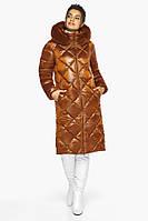 Воздуховик Braggart Angel's Fluff 31046   Зимняя женская куртка сиена