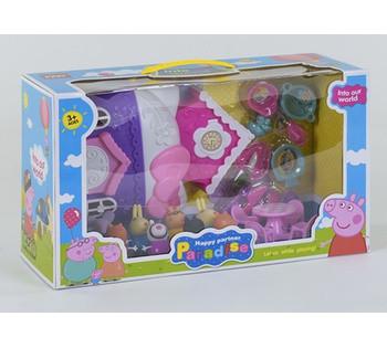 Домик Свинки *Счастливая Семья* 8 фигурок, аксессуары, в коробке