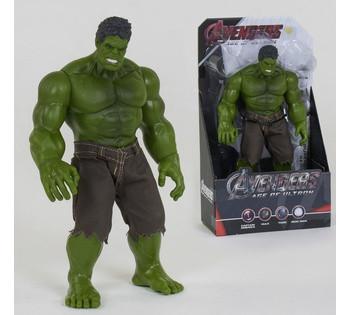 Герой *ХАЛК* 32 см, в коробке HULK Avengers 3321 В