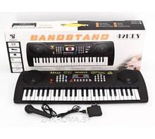 Пианино SD 4915 (18/2) с микрофоном, работает от сети 220V и от батареек, в коробке