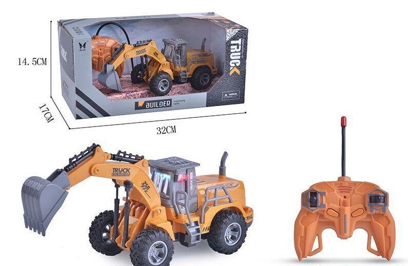 Трактор TRUCK на радиоуправлении 2 вида, в коробке 613-1 / 613-3