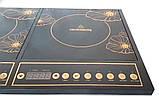 Настольная плита Crownberg CB 1328 индукционная на две конфорки 2000Вт+2000Вт, фото 3