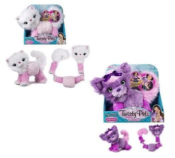 Мягкая игрушка-трансформер 800-28 (48/2) 2 вида, превращается в украшение, в коробке