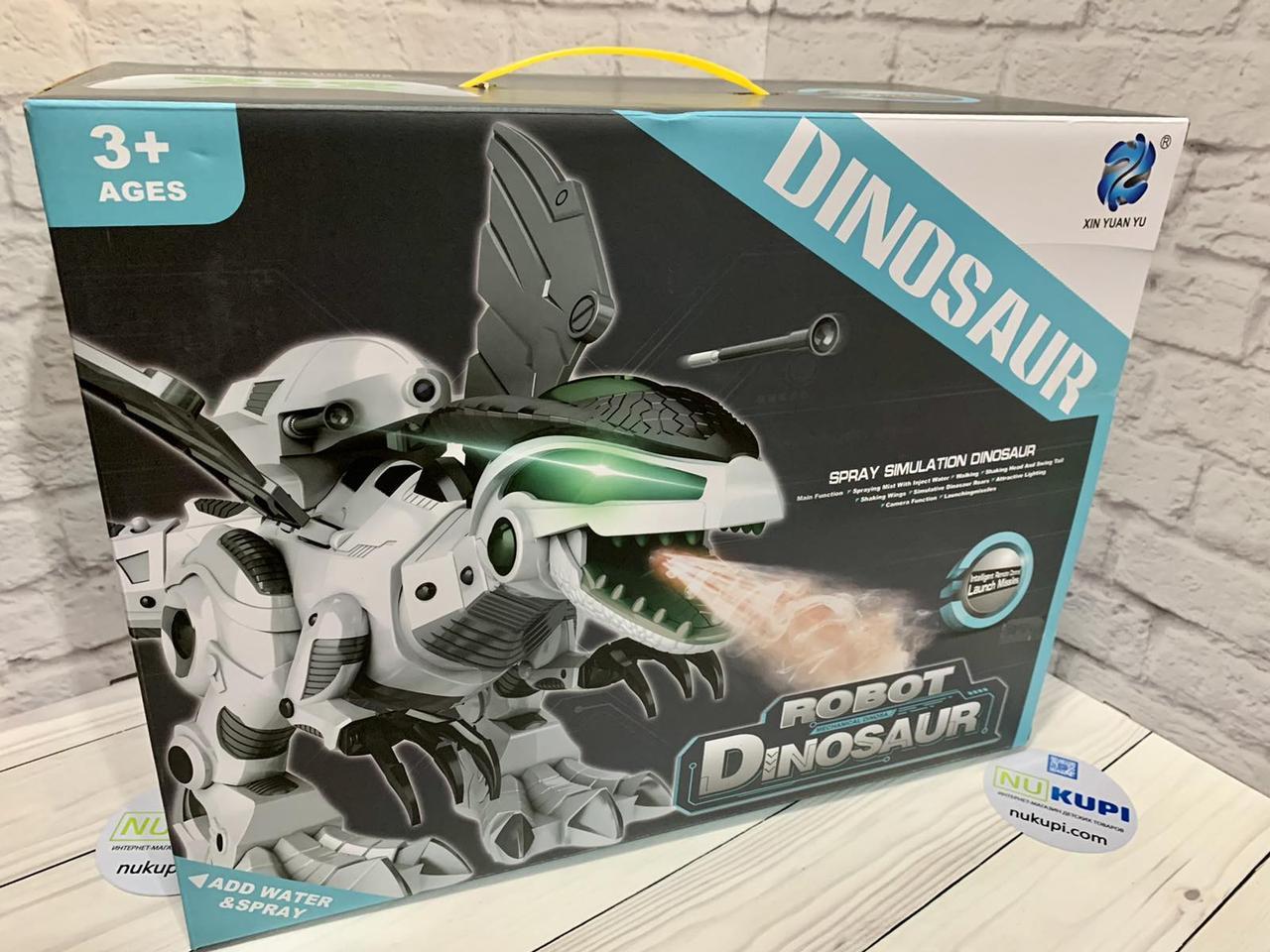 Животное Динозавр Robot Dinosaur на р/у пульт