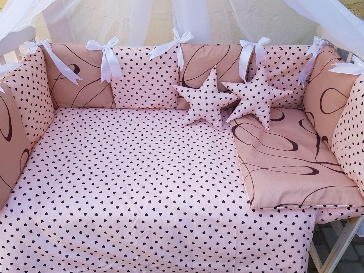 Комплект в детскую кроватку Элит 04