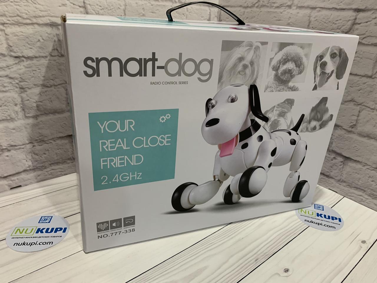 Живоное Smart Dog на р/у собака, пульт управления, 2 цвета