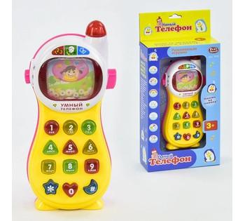 """JT Телефон """"Умный телефон"""" Play Smart , музыка, свет, русское озвучивание 7028"""