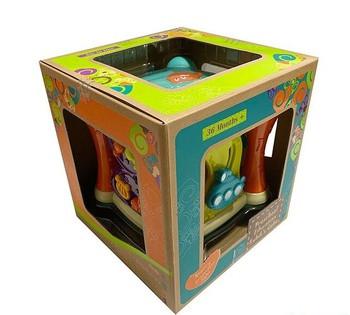 Логический куб 9910  музыкальный, в коробке