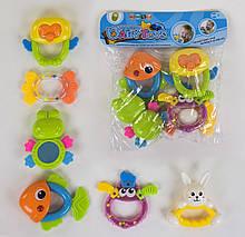 Набір брязкалець Happy Baby Toys 6шт в кульку