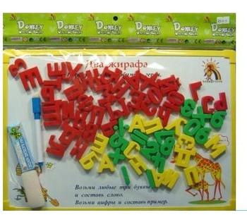 Досточка для малышей *Цифры и Буквы* R 9113-1  на листе