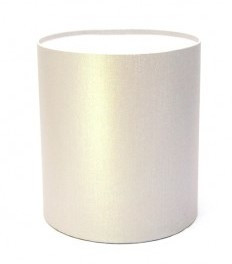 Капелюшна коробка 20х20 см срібло