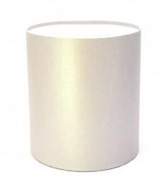 Капелюшна коробка 20х20 см срібло, фото 2