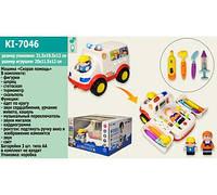"""Музыкальная развивающая игрушка """"Скорая помощь"""" с медицинскими инструментами KI-7046"""