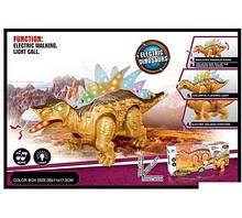 """Динозавр Стегозавр """"Electric Dinosaurs"""" свет, звук, ходит, в коробке 855 A"""