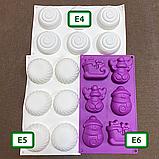 Силіконові форми для цукерок та випічки, фото 2